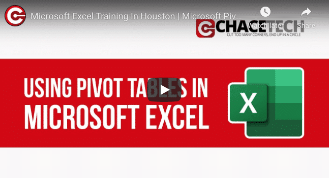 Microsoft Excel Getting Started With Pivot Tables